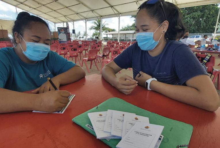 Le vaccinodrome de Bora Bora est installé place Tuvavau à Bora Bora jusqu'à samedi.