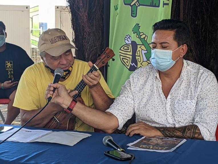 Paco interprête Te Pua Noanoa de Heremoana Maamaatuaiahutapu.