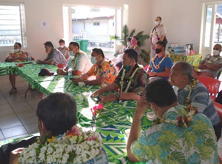 Une trentaine de membres du Syndicat pour la formation des communes de Polynésie française (SPCPF) est arrivée mercredi à Rimatara.