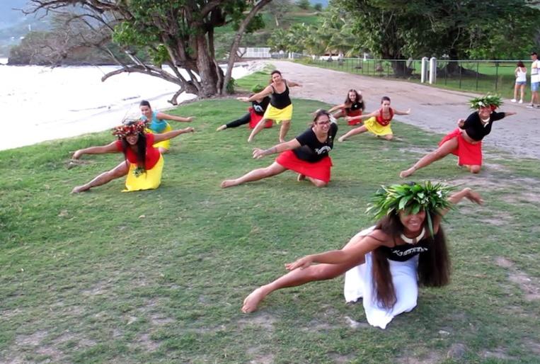 Le haka manu, au cœur de l'enseignement de l'école.