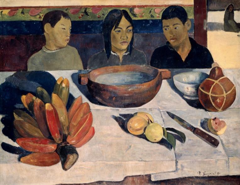 Ce Repas de Paul Gauguin qui n'en était pas un...