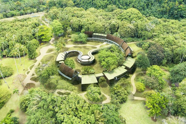 Le futur musée consacré au peintre Paul Gauguin sera situé au cœur du jardin botanique ; il devrait ouvrir ses portes en 2024, mais le parc lui-même sera fermé au public 26 mois, le temps des travaux.