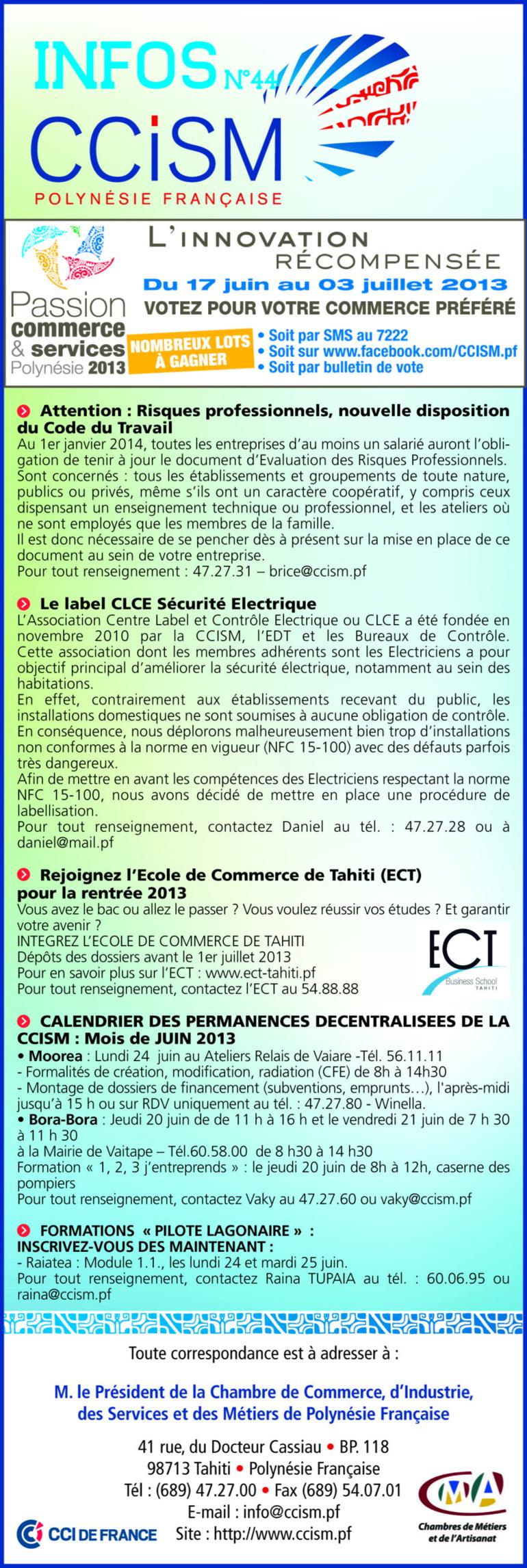 Infos CCISM N°44