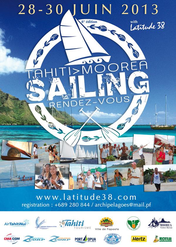 Tahiti Moorea Sailing: rendez-vous les 28-29 et 30 juin
