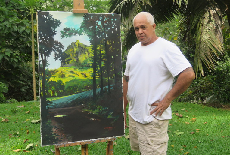 Didier Gendron expose sa nature au Chevalet