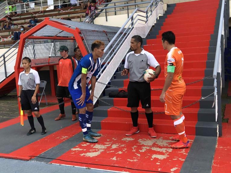 Raimana Li Fung Kuee et ses coéquipiers de Pirae se sont heurtés, jeudi, à une belle équipe de Mira, deuxième du championnat de Moorea.