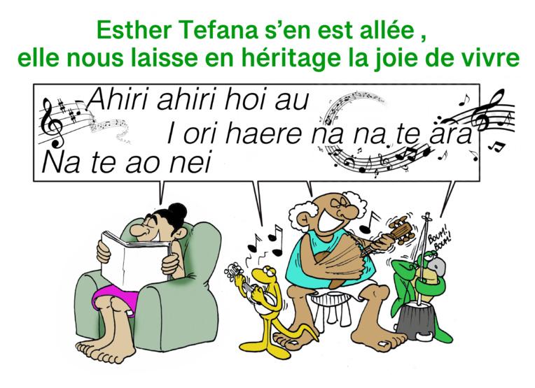 """Māuruuru Esther Tefana"", par Munoz"