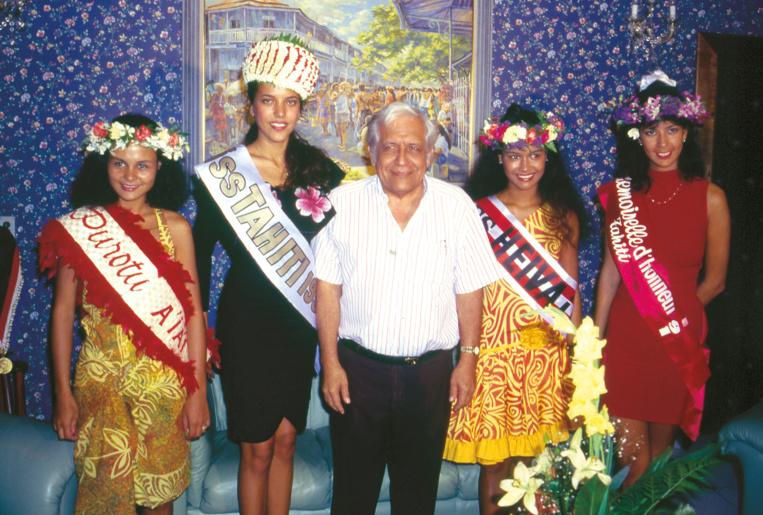 Hina Sarciaux, Miss Tahiti 1991