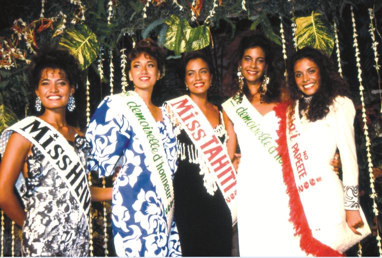Tania Noble, Miss Tahiti 1992