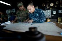 Le Général de brigade Tau'aika 'Uta'atu, Commandant des forces armées de Tonga, participe à Pacific Partnership, le 15 juin 2013 (Source photos : US Navy)