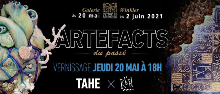 """Ken et Tahe chez Winkler pour """"Artéfacts du passé"""""""