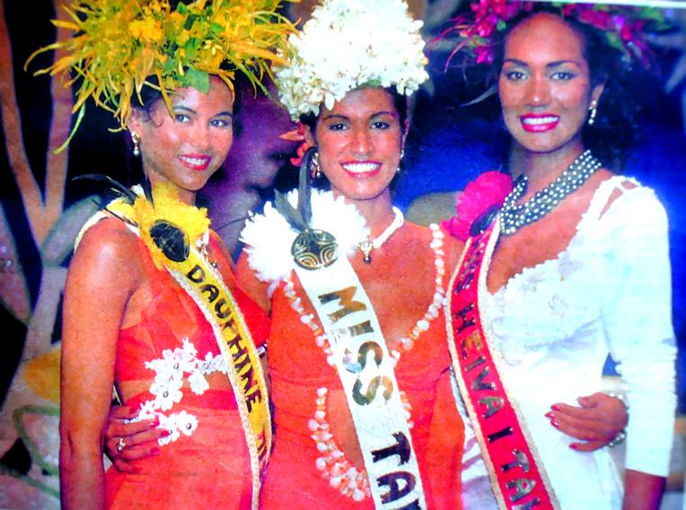 Hinerava Hiro, miss Tahiti 1996