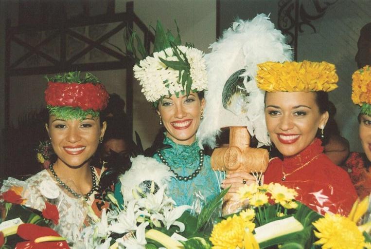 Mareva Galanter, Miss Tahiti 1998