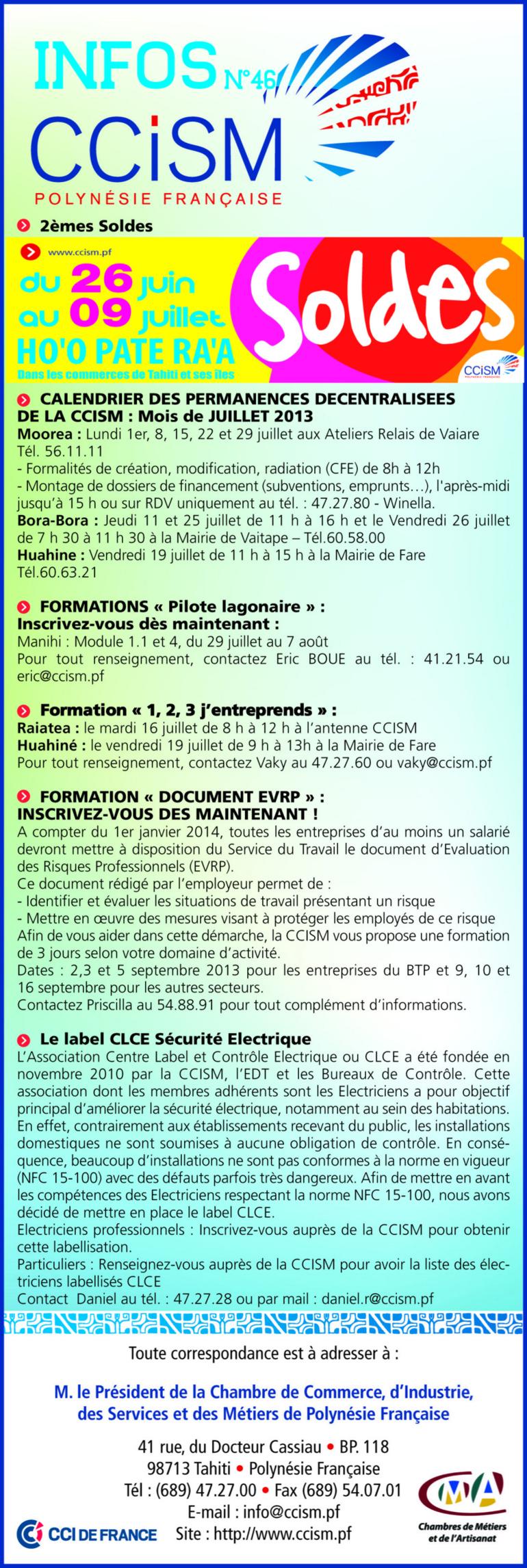 Infos CCISM N°46