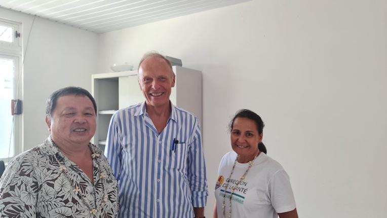 Le taote belge Yves Labar nouveau médecin itinérant à Rangiroa