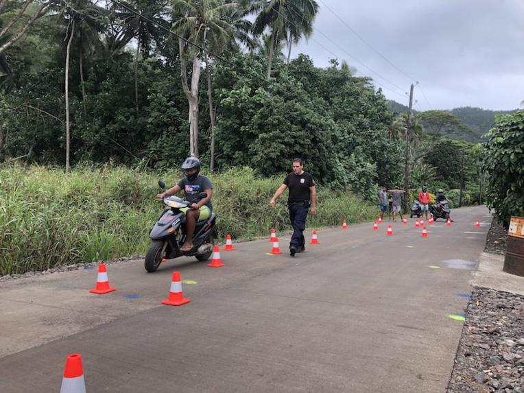 La capacité de conduite et le BSR enfin accessibles à Mangareva