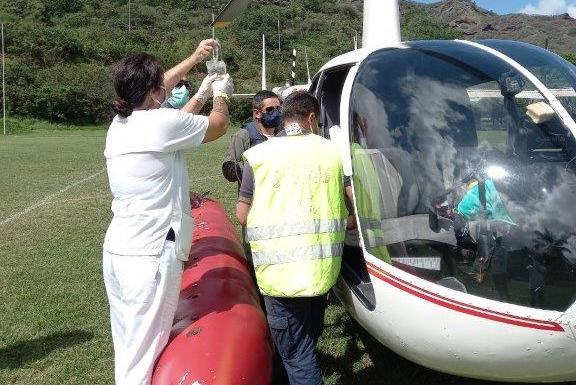 Un marin blessé d'un navire de pêche colombien pris en charge à Nuku Hiva