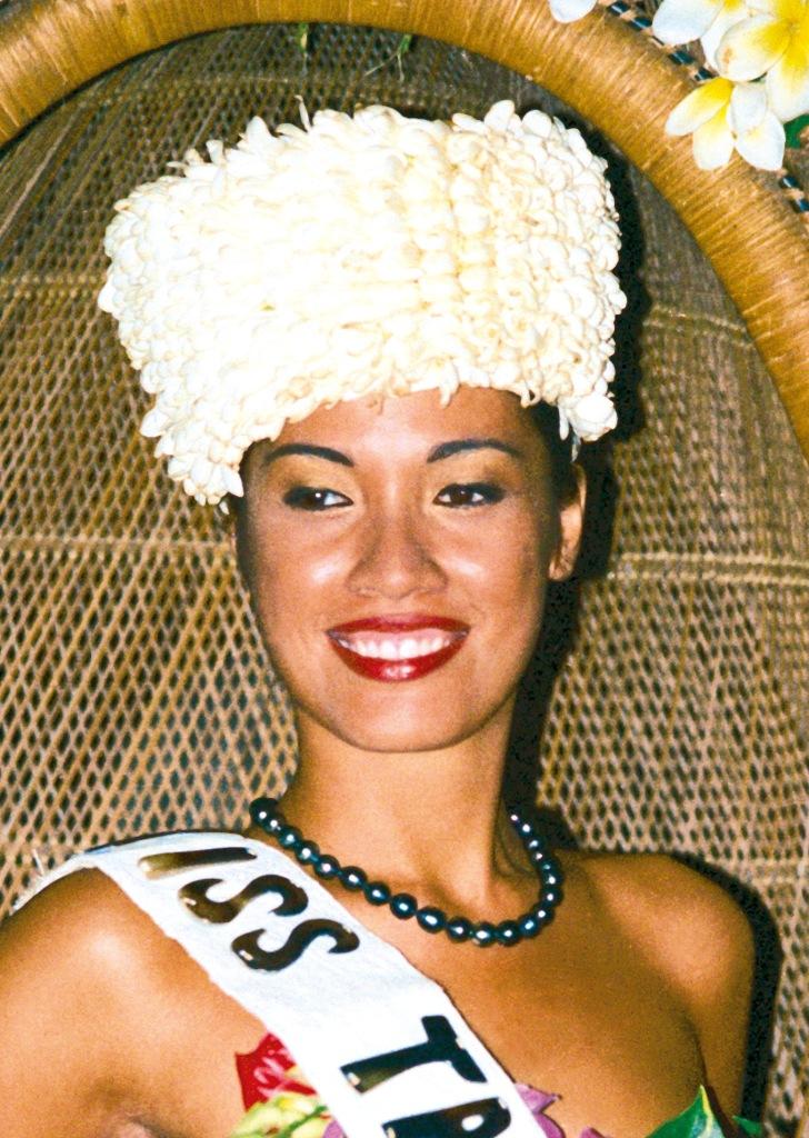 Ravanui Teriitaumihau, Miss Tahiti 2001