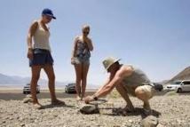 Alerte aux touristes: pas d'oeufs frits sur la chaussée de la Vallée de la Mort !