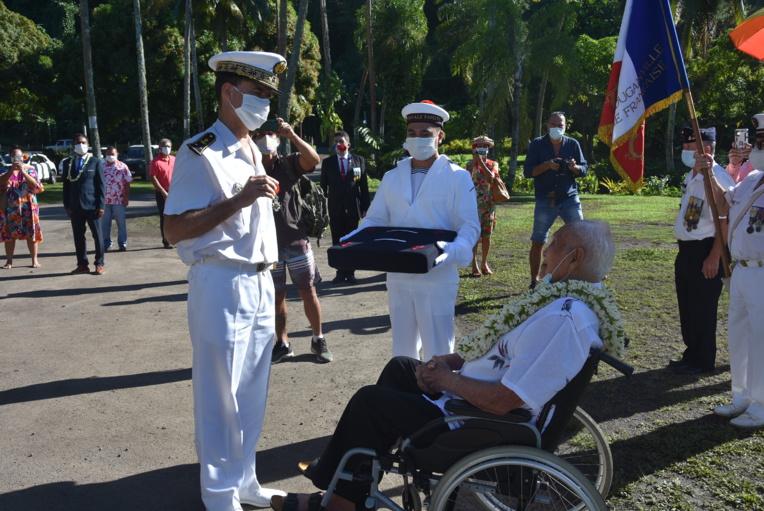 Légion d'honneur pour le dernier soldat tahitien