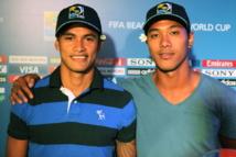 Foot Coupe des Confédérations : Focus sur Steevy Chong Hue et Johnatan Tehau, les héros tahitiens.