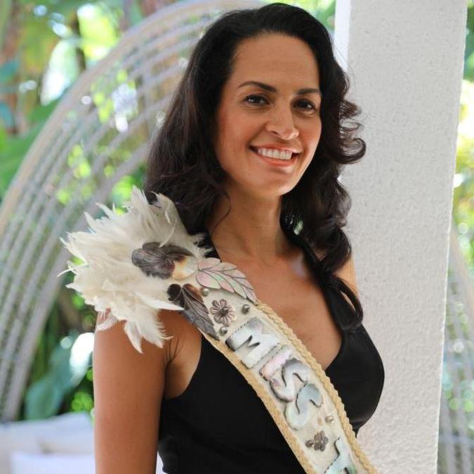 Heitiare Tribondeau, Miss Tahiti 2003