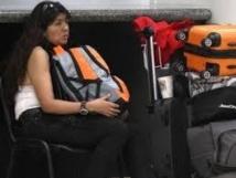 Une femme mystérieuse vit depuis 10 jours dans un aéroport mexicain