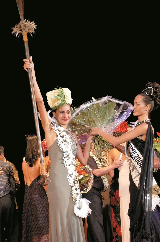 Raipoe Adams, Miss Tahiti 2004