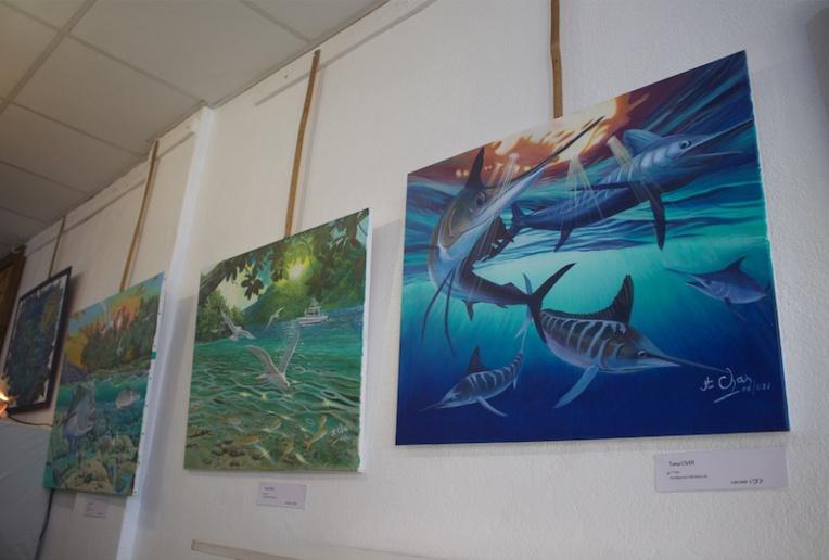 L'océan, thème particulièrement représenté lors de l'exposition.