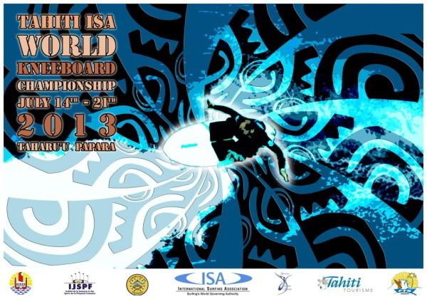 Championnat du monde de kneeboard à Papara du 14 au 21 juillet