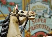Un festival amène de vieux carrousels français à New York