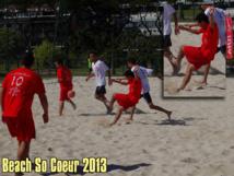 Beach So Coeur 2013 : Quand ballon rond, rime avec bonne action