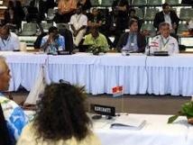 Le Forum des Îles du Pacifique en mission en Nouvelle-Calédonie