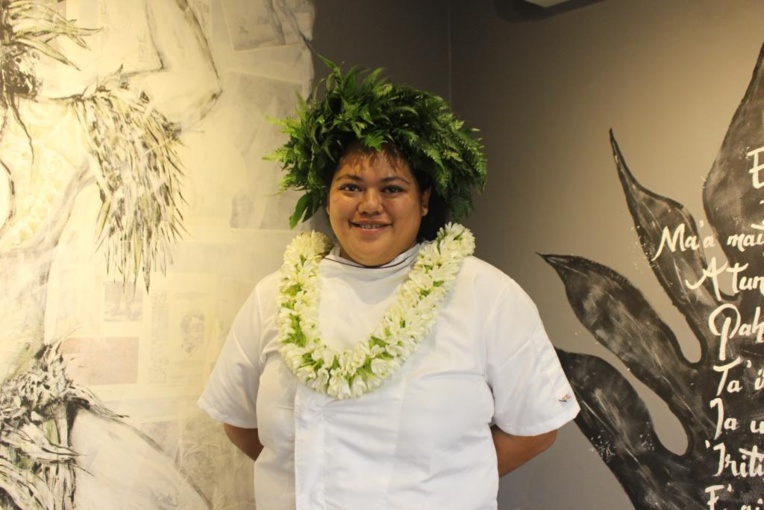 Hinerava Taurua, maître boulangère