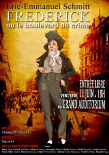"""""""Frédérick ou le boulevard du crime"""", une pièce qui a du style"""