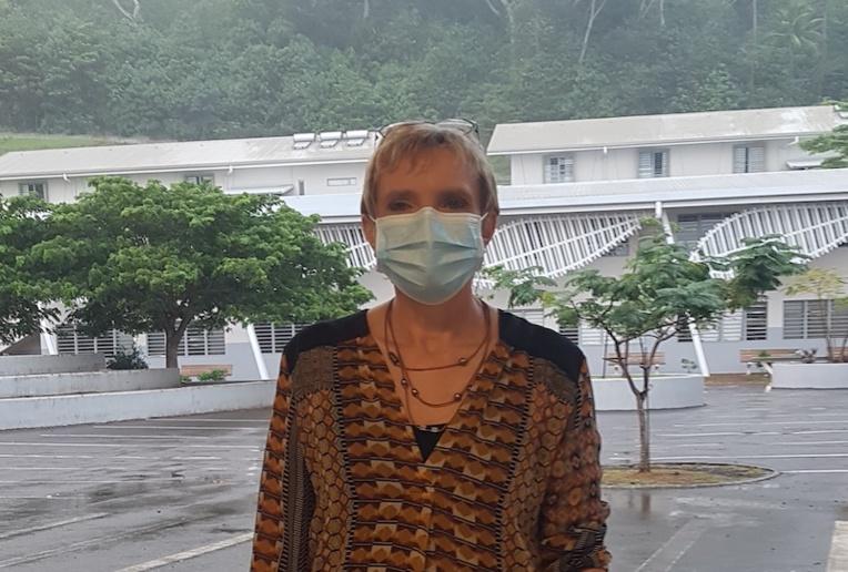 Madame Kamarzine, proviseure du lycée Ihi-Tea no Vavau de Bora Bora.