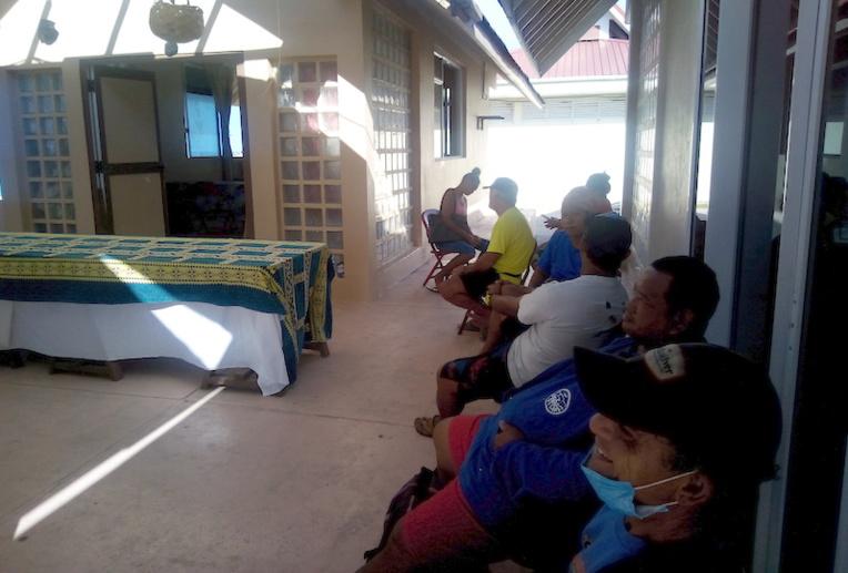 Très demandeuse, la population est venue nombreuse pendant les deux jours de permanence au centre culturel de Rauira.