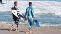 Une entreprise australienne lance des combinaisons anti-requin