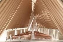 En Nouvelle-Zélande, une cathédrale en carton prend l'eau