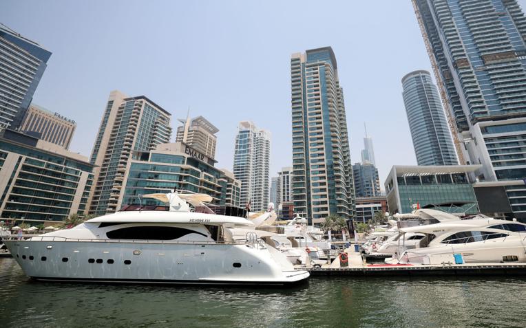 Distanciation sociale de luxe: le marché des yachts est à flot à Dubaï