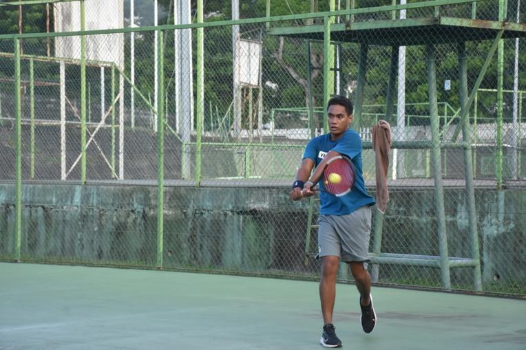Reynald Taaroa a alterné entre coups de génie et fautes directes au cours de la finale.
