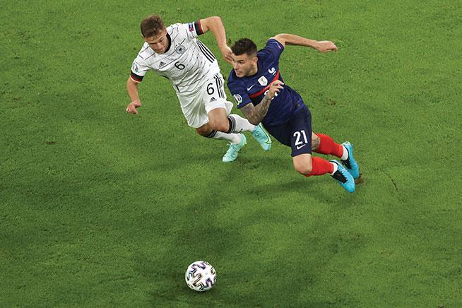 Foot: la France débute l'Euro par une victoire