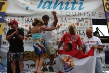 Surf-ISA World Kneeboard Championship 2013 : 4 médailles d'or pour Tahiti