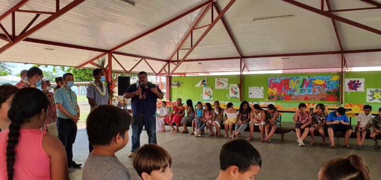 Ouverture du programme national « Création en cours » à Mataiea