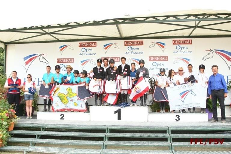 La Polynésie Championne de France Outre-Mer en Equitation