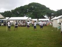 Etudiants ni-vanuatu lors d'une journée d'orientation en avril dernier
