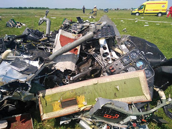 Russie: un avion rempli de parachutistes s'écrase, quatre morts