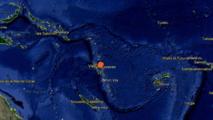 Fort séisme au Nord-est de Vanuatu