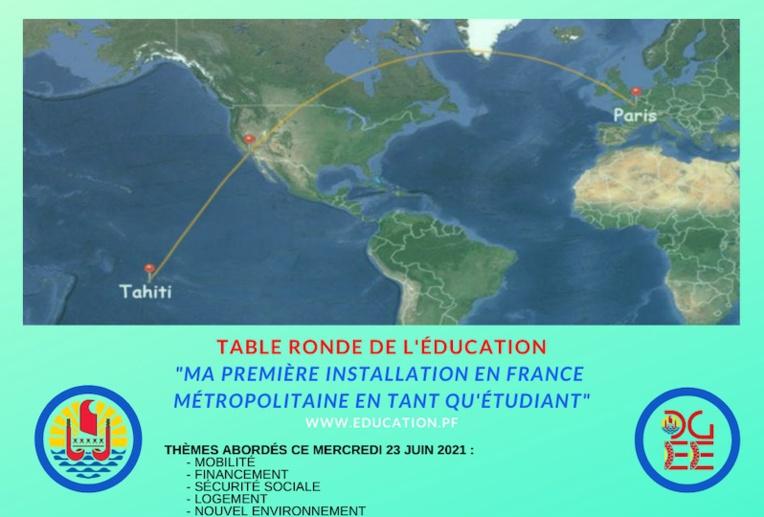 Vie étudiante : une table ronde avant le grand départ en métropole