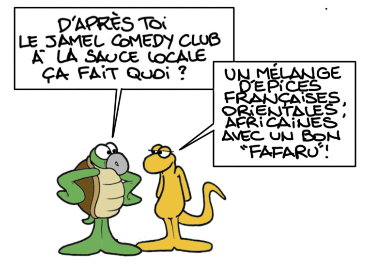 """Jamel Fafaru Club"", par Munoz"